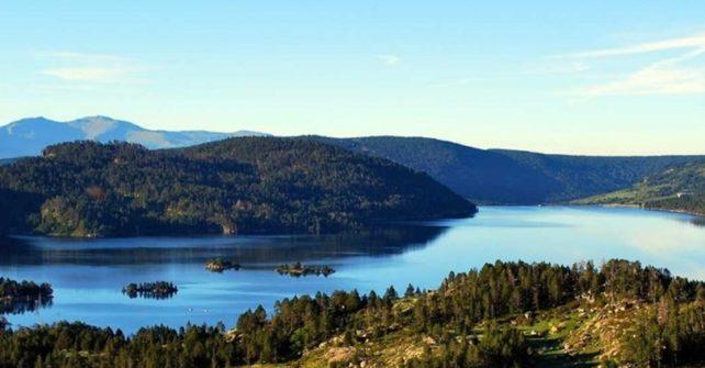 Het meer van Bouillouses
